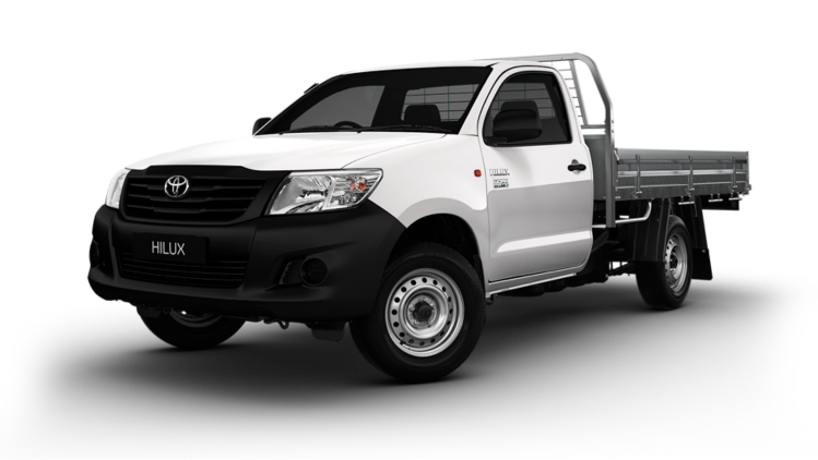 Toyota Hilux Ute - Commercial Rental Vehicles Type